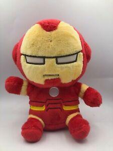 Official Miniso Marvel Avengers Iron Man Super Hero Plush Kids Soft Stuffed Toy