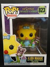 Alien Maggie Simpsons Treehouse of Horror Funko Pop Vinyl Figure #823