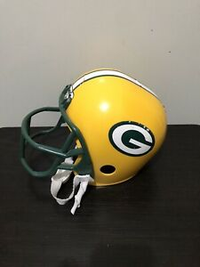 Child Toy Franklin Green Bay Packers Youth Size Football Helmet Man Cave