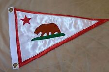 Monterey CA ? Boat Yacht Club Harbor Ship Regatta Marina Pennant Flag Burgee Sea