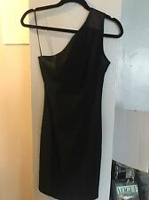 Jonathan Saunders for Top Shop black bodycon dress Size 2