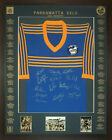 Blazed In Glory - 1982 Parramatta Eels Premiers - NRL Signed and Framed Jersey
