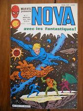Semic MARVEL DC Comics FRANCE Spiderman BD LUG Super Heros NOVA n°77 Juin 1984