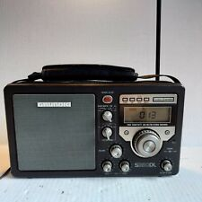 Grundig S350DL AM/FM Stereo SW1 2 3 High Sensitivity Radio Tested With Batteries
