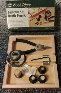 "Wood River Woodworking Forstner Bit - Depth Stop Kit 3/4""-2 1/8"" New"