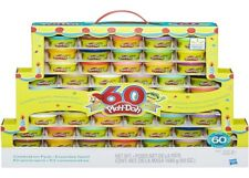 PlayDoh 60th Anniversary 60 Pack Ages 3+ Toy Play Doh Colour Gift Design Shape