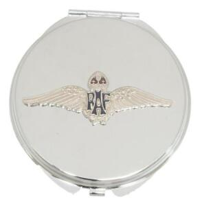 RAF Sweetheart Wings Compact Mirror Handbag Gift With Free Engraving ME2