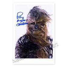 Peter Mayhew alias Chewbacca aus Krieg der Sterne - Autogrammfoto laminiert 