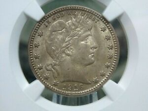 """1916 """"D"""" Barber Quarter 25c NGC MS62 East Coast Coin & Collectables, Inc."""
