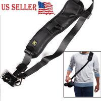 Quick Rapid Shoulder Neck Strap  Belt for DSLR/SLR  Digital Nikon Sony Camera