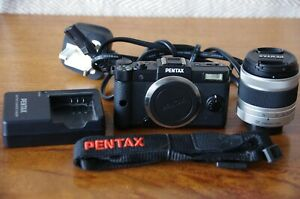 Pentax Q Mirrorless Camera, with 02 Lens, Charger, Battery, SD Card.Ready to Use