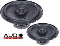 Audio System MXC 165 EVO 165 mm Coaxial System Lautsprecher Speaker Koax 1 PAAR