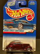 1999 Hot Wheels First Editions #649 1/26 - 1936 Cord - 19642