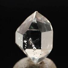 """5554_2  Herkimer """"Diamant""""  ca 1,4 cm  UV Einschlüsse Herkimer  Quarz USA"""