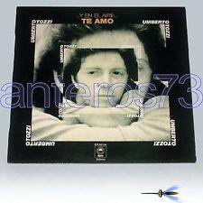 """UMBERTO TOZZI """"Y EN EL AIRE...TE AMO"""" RARO LP IN SPAGNOLO"""