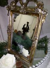 Nostalgia Mirror Antique Gold Baroque Shabby Vintage Frankse 23x15