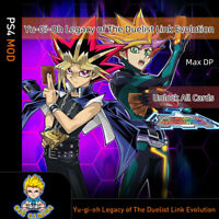 Yu-gi-oh Legacy of The Duelist Link Evolution(PS4 Mod)Max money, Unlock all card