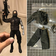Captain America Winter Soldier Clothes Set 1/12 Model Fit 6in ML Action Figure