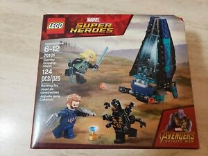 Lego Super Heroes 76101 Outrider Dropship Attack New Sealed Marvel! Creased
