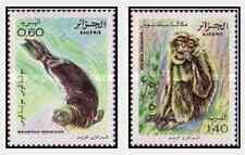 Timbres Animaux Algérie 744/5 ** lot 18545