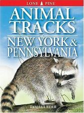 Animal Tracks: Animal Tracks of New York and Pennsylvania by Tamara Eder and...