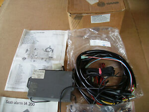 Classic Saab 900 1986 to 1992 Saab Factory Alarm Kit (some parts missing in box)