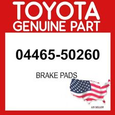 TOYOTA GENUINE 04465-50260 PAD KIT, DISC BRAKE OEM