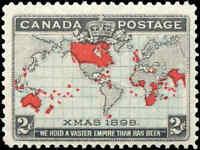 1898 Mint H Canada F+ Scott #86 2c Imperial Penny Stamp