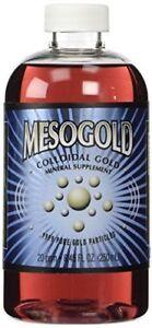 MesoGold  20 ppm Colloidal Gold 250 mL/8.45 Oz  Brand New