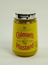 NEW - Solid Sterling Silver LID - Colmans MUSTARD Jar - 170g - Boxed!