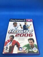 66736 Rugby Challenge 2006 - Sony PS2 Playstation 2 (2005) + Manual