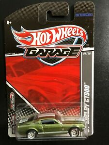 Hot Wheels Garage Set FORD - 67 Shelby GT500 - w/Real Riders - 01/20