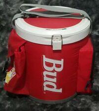Bud Light Budweiser 3 Gallon Insulated Beer Beach Camping Outdoor Cooler W Strap