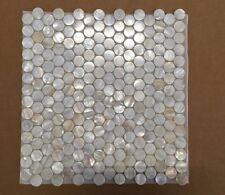 lot 12pcs shell backsplash tiles mother pearl mosaic As Kitchen Bathroom walls