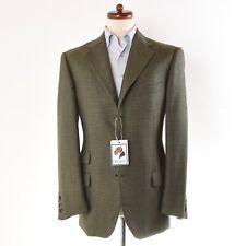 Ermenegildo Zegna Sakko Jacket 100% Kaschmir Cashmere Grün Green Check Menswear