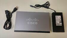 CISCO SG300-10P SRW2008P-K9 V02 POE SMALL BUSINESS MANAGED SWITCH