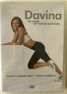 Davina my three 30 minute workouts UK R2 G+C (AU Seller)