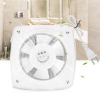 12W Ventilator Extractor Exhaust Fans Blower Wall Window Toilet Bathroom Kitchen
