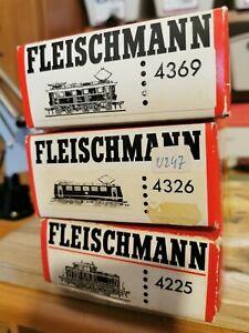 Fleischmann H0 - Lotto di 3 Locomotive DB