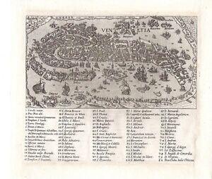 Antique map, Venetia