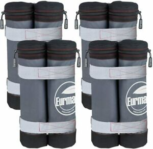 New Weight Ez Pop Instant Canopies Shelter Bags Without Sand, Set of 4