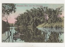 Umzimkulu River Near Port Shepstone South Africa 1909 Postcard 344b