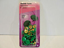 New The Hillman Group Green Thumb Tacks 40-Pack, No. 122675