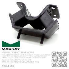MACKAY MAN TREMAC T56 GEARBOX MOUNT V8 LS1 5.7L MOTOR [HOLDEN V2-VZ MONARO CV8