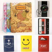 Portable Cute Passport Cover Wallet Protector Case Travel ID Holder