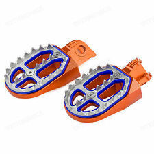 KTM 620/625/640/660 LC4 ADVENTURE/DUKE/SM/SMC BILLET CNC Pro-Bite Wide Foot Pegs