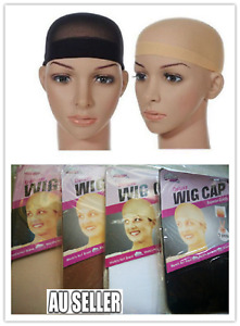 Hair Net Wig Cap for Wearing Wigs Soft Stocking Fabric Control Hair 4 Colours
