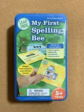 Leap Frog My First Spelling Bee Game Spelling Word Recognition School Skills Tin