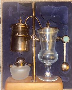Belgian/Belgium Luxury Royal Family Balance Siphon/Syphon Coffee Maker