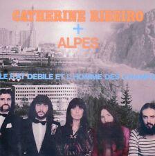 ☆ CD Catherine Ribeiro + Alpes Le Rat Débile Et L'Homme Des Champs - MINI LP
